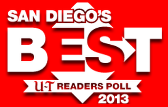 San Diego's Best Awards, 2013 1st Place – Favorite Local Band San Diego Union Tribune